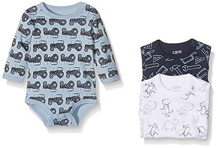 Care Body Bebé-Niños pack de 3, Multicolor (Royal Blue 750), 92 cm
