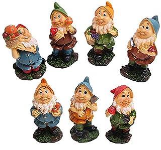 Gnomes Garden Dwarfs Statue Mushrooms