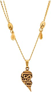 Alex And Ani Best Friends Gold One Size Necklace CBD17BFENRG