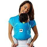Baby K'tan Active - Portabebés turquesa Azul Océano Talla:XS