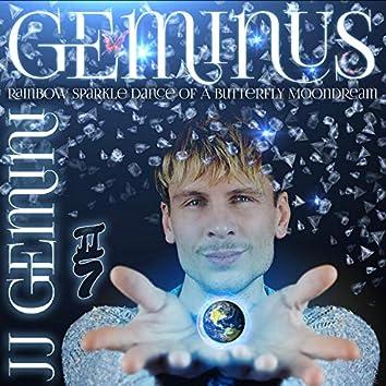 Geminus: Rainbow Sparkle Dance of a Butterfly Moondream