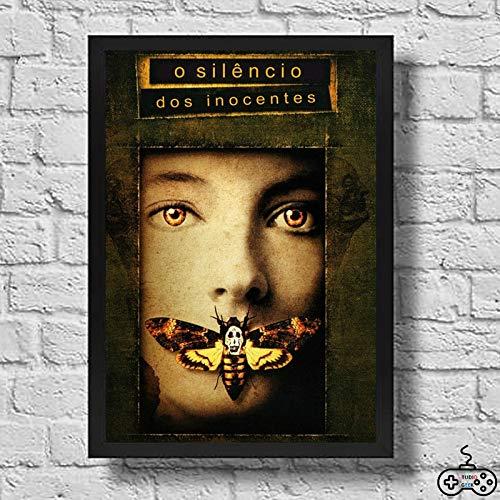 Quadro Decorativo O Silêncio Dos Inocentes #2 - A3-42x30cm