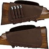 BRONZEDOG Waterproof Leather Buttstock...
