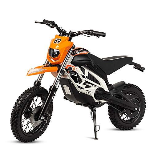 ECOXTREM Mini Moto Cross eléctrica Infantil, Color Naranja.