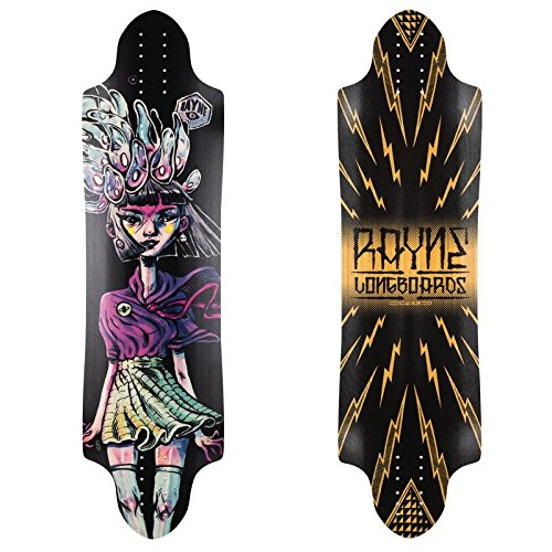 Monopatin skate skateboard longboard Rayne Savage V2 37x10
