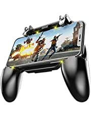 """FeiFei Mobile Phone Gaming Controller Mobile Game Trigger Joystick Gamepad for 4-6.5"""" iOS & Android Phone"""