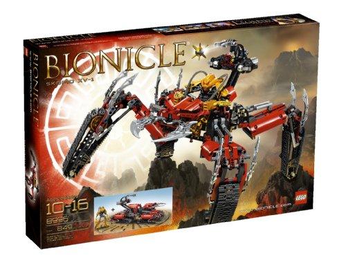 COSTRUZIONI LEGO BIONICLE SKOPIO XV-1 BIONICLE NUOVO E RARO 8996