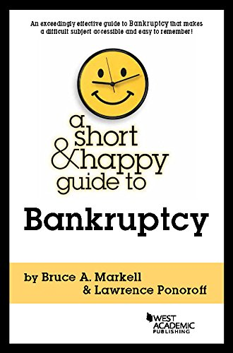 A Short and Happy Guide to Bankruptcy (Short and Happy Series) (English Edition)