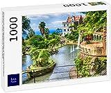 Rompecabezas Lais Paisajes del Monte Palace Tropical Jardín - Funchal, Isla de Madeira, Portugal 1000 piezas