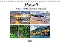 Hawaii - Vulkan- und Inselparadies im Pazifik (Wandkalender 2022 DIN A4 quer): Bilderreise ueber die Hawaii Inseln Kauai, Maui, Oahu und Big Island (Monatskalender, 14 Seiten )