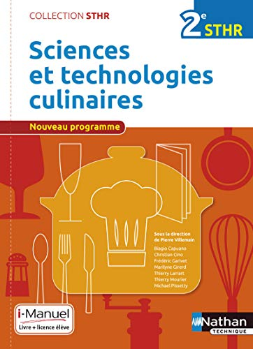 Sciences et technologies culinaires 2e STHR