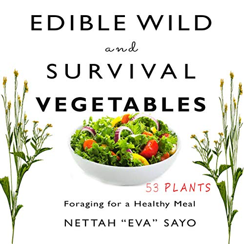 Edible Wild and Survival Vegetables audiobook cover art