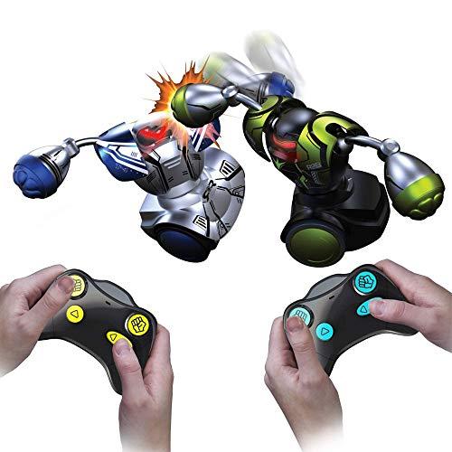 Silverlit 88052 robot d\'intrattenimento,confezione da 2 robot (1 robot verde e 1 rosso)