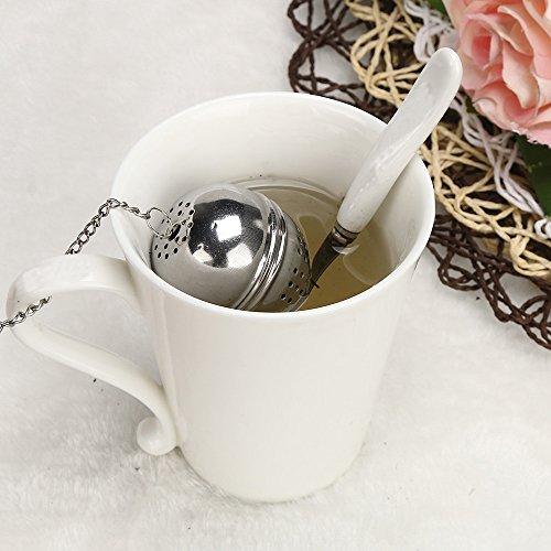 Gaddrt - Infusor de Bola de te de Acero Inoxidable con Filtro de Especias