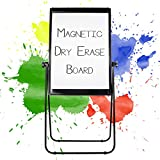 Easel Stand Dry Erase Whiteboard - 40x28 Inches - White Board, Dry Erase Board, Magnetic Board for Homeschool, Preschool, Work, Class - Large Portable Dry Erase Board with Stand - Adjustable, Mobile