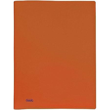 Favorit 100460297 Portalistino a 60 Buste, Arancio, 22 x 30 cm