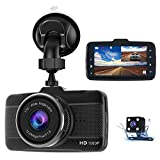 Dash Cams For Cars Front and Rear Full HD 1080P Backup Car Camera