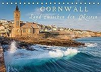 Cornwall - Land zwischen den Meeren (Tischkalender 2022 DIN A5 quer): Entdecken Sie faszinierende Kuesten, die raue Schoenheit und Urspruenglichkeit von Cornwall. (Monatskalender, 14 Seiten )