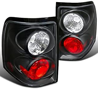Spec-D Tuning LT-EPOR02JM-TM Ford Explorer Xlt Xls Black Housing Altezza Tail Lights
