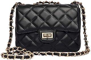 Crossbody Shoulder Black Fashion Women Lady Leather Messenger Bag Satchel Handbag Tote [SHP-1]