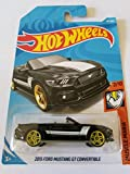 hot wheels Muscle Mania 2/10, Black 2015 Ford Mustang gt Convertible 291/365 50th