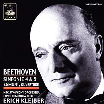 Beethoven: Symphonies Nos. 4 & 5 - Egmont