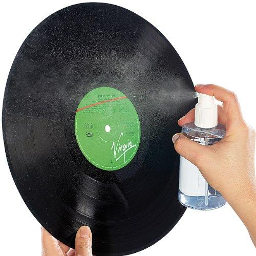 Dynavox Reinigungsspray und Spezialtuch zu effektiven Plattenpflege