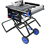 Delta Power Tools 36-6020 10' Portable Table Saw with Stand,Black