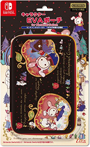 Nintendo and San-X Official Kawaii Nintendo Switch Hard Case -Sentimental Circus Snow White-
