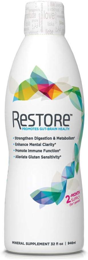 RESTORE Promotes Gut-Brain Health Wellness Over item handling 5% OFF ☆ F Immune Digestive