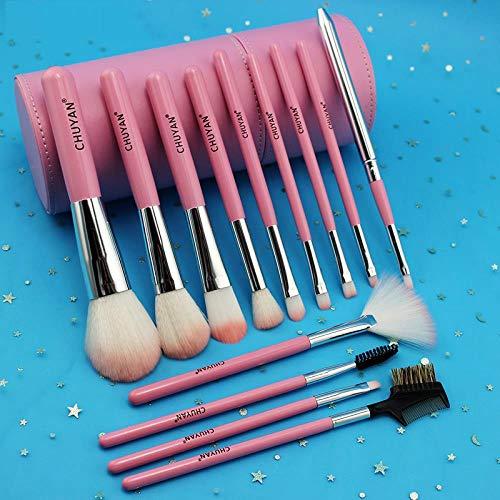 Make-Up Pinsel Eimer Aufbewahrungsröhre Kompletter Satz Anfänger Beauty Makeup Makeup Tools...