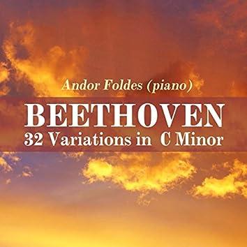 Beethoven: 32 Variations in C Minor