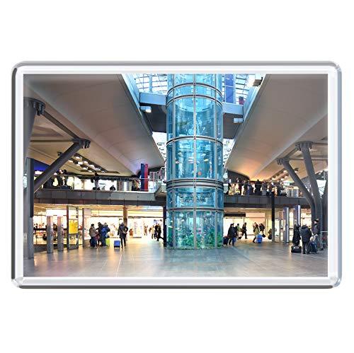 stadtecken magneten 10x7cm +++ Berlijn motieven: Aquarium I koelkastmagneten I Leven & momenten grappig I Whiteboard I Souvenir I Gift I Cadeau-idee