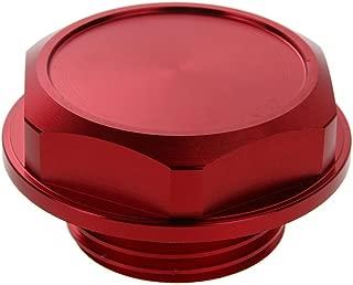 Aluminum Alloy Engine Oil Fuel Filler Billet Cap Tank Cover for Toyota Red