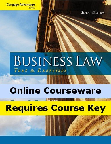 MindTap Business Law for Miller Hollowell s Cengage Advantage Books: Business Law: Text and Exercises, 7th Edition