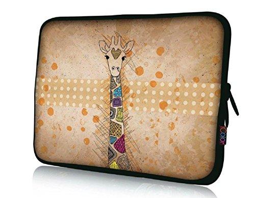 15' Laptop Sleeve Bag 14.5'~15.6' Notebook Computer PC Cover Carrier Holder-Giraffe