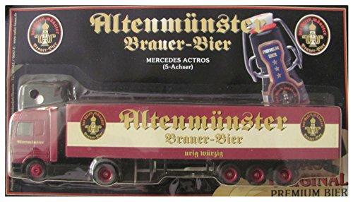 Altenmünster Nr.05 - Brauer Bier urig würzig - MB Actros - Sattelzug