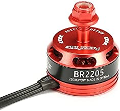 RacerStar Toolcool Racing Edition 2205 BR2205 2300KV 2-4S Brushless Motor for QAV250 ZMR250 260 280 RC FPV Multicopters Quadcopter (Clockwise Screw Thread)