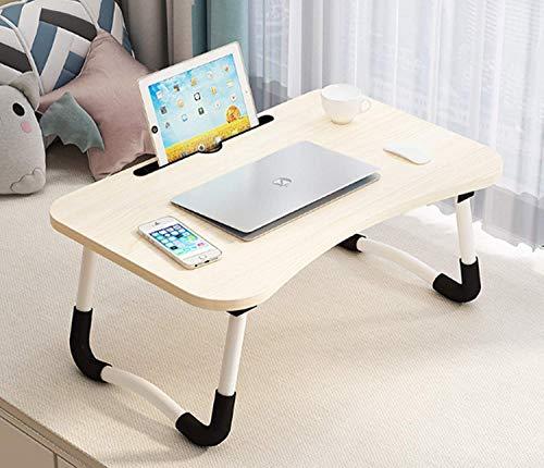 Escritorio para ordenador portátil, mesa de cama portátil, bandeja de desayuno, escritorio portátil plegable portátil, mesa portátil para cama y sofá, soporte para lectura para sofá
