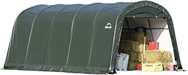 ShelterLogic Replacement Cover 12x20x8 Round Green 9oz 2A1114 211114 for Model 71342 (9oz PE Green)
