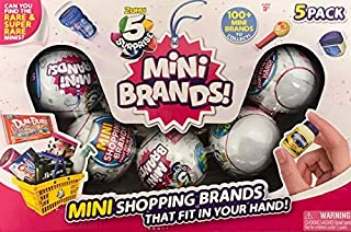 ZURU 5 Surprise Mini Brands Collectible Capsule, 5 Ball Bundle