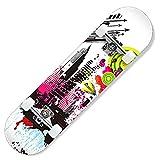 LJHBC Skateboard Completo 31.5' Patineta Profesional para Adultos Equipado con ABEC-7 Rueda de Skate de PU Niños y niñas 6-12 años de Edad Deportes al Aire Libre (Color : #6)