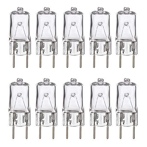 Deezio Xenon G8 35w 120v Bulb 120V T4 Light Bulbs G8 Base 120 Volt JCD...