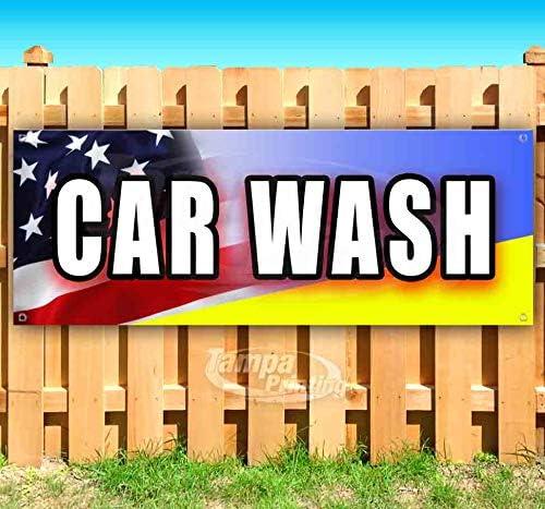 Car Wash 13 oz Max 65% OFF Banner Free Shipping New Non-Fabric Heavy-Duty Single-Sid Vinyl