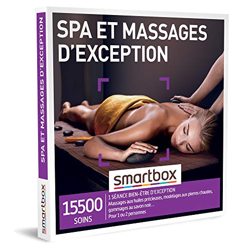 SMARTBOX - Coffret Cadeau -  Spa et massages d'exception