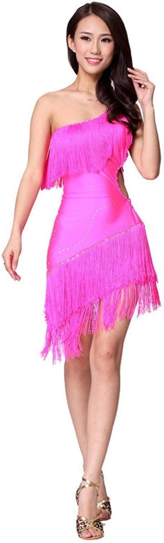 Latin dance costume shoulder tassel Latin dance costumes
