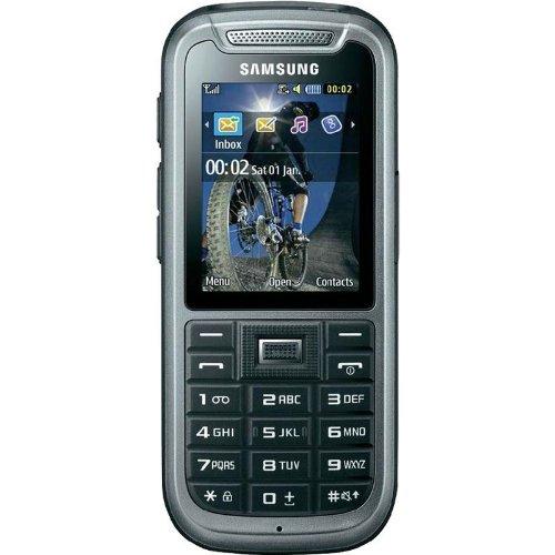 Samsung C3350 Handy Rx-Band 0.3MP, Edge, Bluetooth, Grau