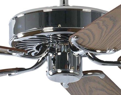 Pepeo GmbH 13322010132_v2 Ventilador de techo, 58 W, 240 V, Gris ...