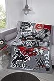 Coco Moon WWE World - Manta de forro polar para niños
