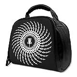 NE Disc Golf Basket Chains Isolierte Tasche Lunch Bag Isolierte Lunch Box Einkaufstasche Kühltasche Für Picknickarbeiten
